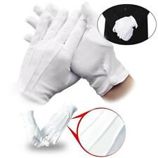 1 Pair Mens White Formal Gloves Tuxedo Honor Guard Parade Santa Inspection ;,