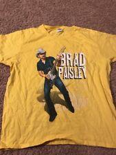 2013 Bi-Mart Country Music Festival Brad Paisley T Shirt XL Brownsville Oregon