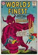 World's Finest #133 May 1963 Silver Age Batman Superman Good+