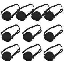 10Pcs Eye Patches Single-eye Blindfold Elastic Blindfold for Kids Adults Outdoor