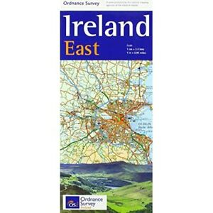 Ireland Holiday East (Irish­ Maps, Atlases & Guide) - Sheet map, folded NEW newO