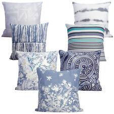 Pair--Sheridan Stripe Dye Floral Pattern European Pillowcase  65x65cm