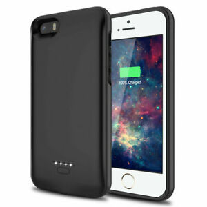 4000mAh Portable External Power Pack Backup Battery Charger Case F iPhone 5 5S