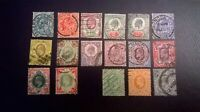 Great Britain KEVll SC 127-138  & 143-145 * SG215 / 257 Complete Definitive Set