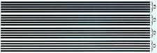 Rayas Negro 1,1-1,4 MM 1 :3 2 Pegatina Adhesivo