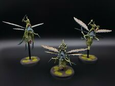 Warhammer Age of Sigmar Maggotkin of Nurgle Plague Drones x3 #1 Painted R1S4B1