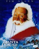 Tim Allen The Santa Clause 2 Signed 8x10 Matte Photo JSA Authenticated