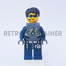 LEGO Minifigures - 1x agt025 - Agent Chase - Agents Omino Minifig Set 8969 8970