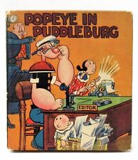 1934 Saalfield #1088 POPEYE IN PUDDLEBURG Big Little Book BLB *