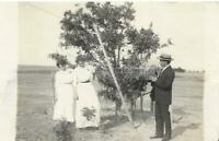 BACK IN THE DAY Vintage POSTCARD Real Photo RPPC Black and White FOUND 910 5 T