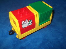 Lego Duplo Eisenbahn großer Kipplore Waggon Intelli Güterwaggon 2 X AUFSATZ 2933