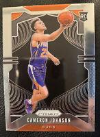 2019-20 Panini Prizm Cameron Johnson #257 Phoenix Suns Rookie Card RC