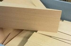 4 große überbreite Hartholzkeile 200x100x25mm