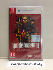 WOLFENSTEIN 2 THE NEW ORDER - NINTENDO SWITCH - VIDEOGIOCO PAL NUOVO SIGILLATO