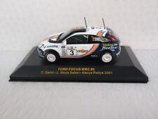 IXO. Ford Focus WRC. Sainz & Moya Safari Kenya Rallye 2001.1:43