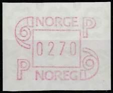 Noorwegen postfris automaatzegels 1986 MNH A3 (06)