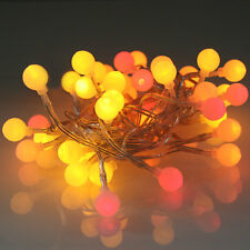 40 LED Multi Colour Party Sunset Lights Warm Color Red Orange Yellow Decoration