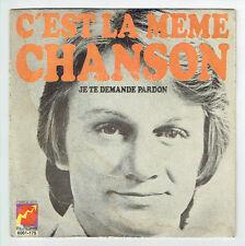 """Claude FRANCOIS Disque Vinyle 45T 7"""" SP C'EST LA MEME CHANSON - FLECHE 6061 175"""