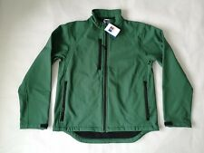 Russell Mens Green 140M Softshell Zip Jacket Size M BRAND NEW