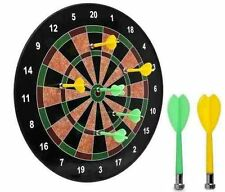 """18""""MAGNETIC DART BOARD DARTBOARD 6 DARTS PARTY GAME TOY PLAYSET KIDS CHILDRENS"""