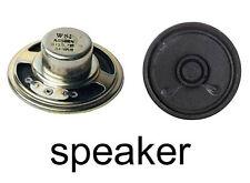 8 Ohm 1.5W Round Internal PC Loud Speaker Cable Lautsprecher mit Kabel Ø50mm