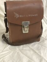 Vintage Bell & Howell Model 252  -  8mm Movie Camera With  Leather Case
