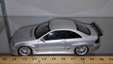 1/18 MERCEDES BENZ CLK DTM AMG COUPE SILVER AND MATCHING INTERIOR BY KYOSHO