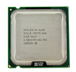 Intel Core 2 Quad Q6600 2.4GHz 4Cores SLACR 8M 1066MHz LGA775 CPU Processor