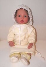 """2004 Berenguer Dp Creations Truly Real Baby Doll Life Like 21"""" Girl Reborn"""