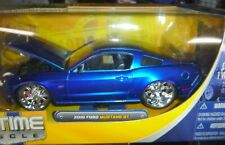 JADA BIG TIME MUSCLE 2010 FORD MUSTANG GT BLUE 1/24 DIECAST