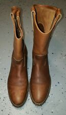 VINTAGE RED WING PECOS BOOTS 10 A MADE IN USA GREAT CONDITION.