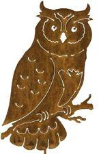 Owl Garden Stake, Metal Bird Art, Metal Garden Art, Garden Owl Statue