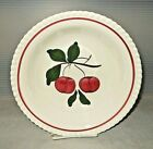 "Mid Century Vintage Blue Ridge Southern Pottery Crab Apple 9"" Round Serving Bowl"