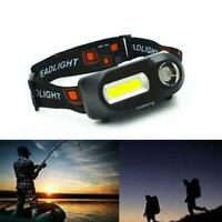 Super Bright Head Torch/Headlight LED Rechargeable Headlamp Fish 10,000 hours 20