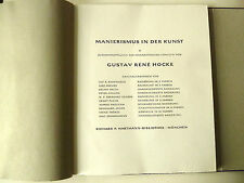 Kunst, Moderne Kunst, Gustav René Hocke, Manierismus Kunst, Originalgraphik,