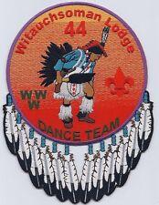 Witauchsoman Lodge 44 OA backpatch J6 Dance Team