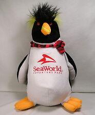 "Sea World Adventure Park Souvenir, BIG 17"" Penguin Stuffed Plush by Toy Factory"