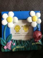 Mr Men Collectibles ~ Miss Tiny Mr Small Retro Picture Frame 4 X 4 Inches