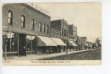 Arlington SD Rare East Side Dirt Road Dentist Sign UDB ca. 1900s