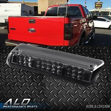 BLACK HOUSING REAR 3RD CENTER BRAKE+CARGO LED TAIL LIGHT FOR 04-08 F150/EXPLORER