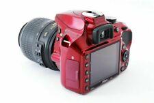 Nikon D D3400 24.2MP Digital SLR Camera - Red (Kit w/ AF-P DX 18-55mm Lens)