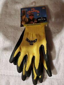 Buck Knives  Mr Crappie Fishing Gloves Non Slip Medium Multi Purpose Gloves NEW!
