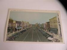 vintage postcard hays st fayetteville nc stores belks bulova watches ect old car