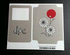 DASHBOARD CONFESSIONAL FLOWER LOT 2PCS ON 1 SHEET VIDEO IPOD SKIN MUSIC STICKER