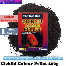 Cichlid Colour Enhancing Pellet 200g (2mm Size Sinking Pellet)