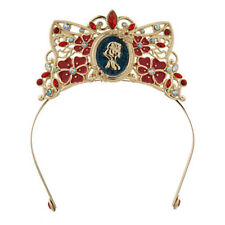 NEW! Disney Store Snow White Princess Jewel Tiara Crown Costume Dress Headband