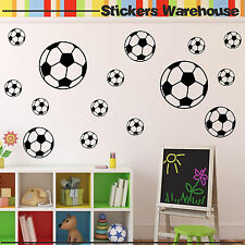 18 Football Sport Balls Stickers Children Decals for Wall Child Room Decoration
