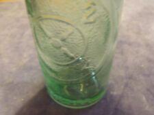 Vintage  Dr Pepper Soda Pop 6 1/2 oz green tint bottle