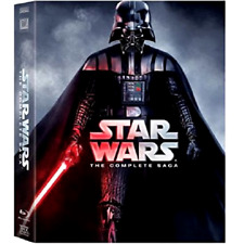 Star Wars The Complete Saga 9-Disc Collection Blu-ray Digital Film Collection