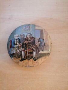 Old prattware Pot Lid Dr Johnson km 175